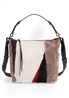 ALLSAINTS 'Kita' Genuine Shearling Shoulder Bag