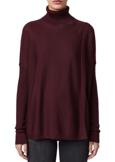 ALLSAINTS Koko Merino Wool Turtleneck Wrap Sweater