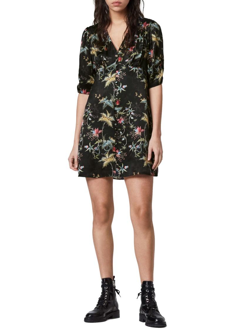 ALLSAINTS Kota Evolution Floral Print Dress