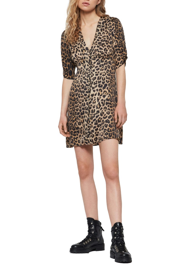 ALLSAINTS Kota Leppo Print Dress