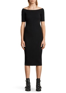 ALLSAINTS Lavine Bandeau Dress