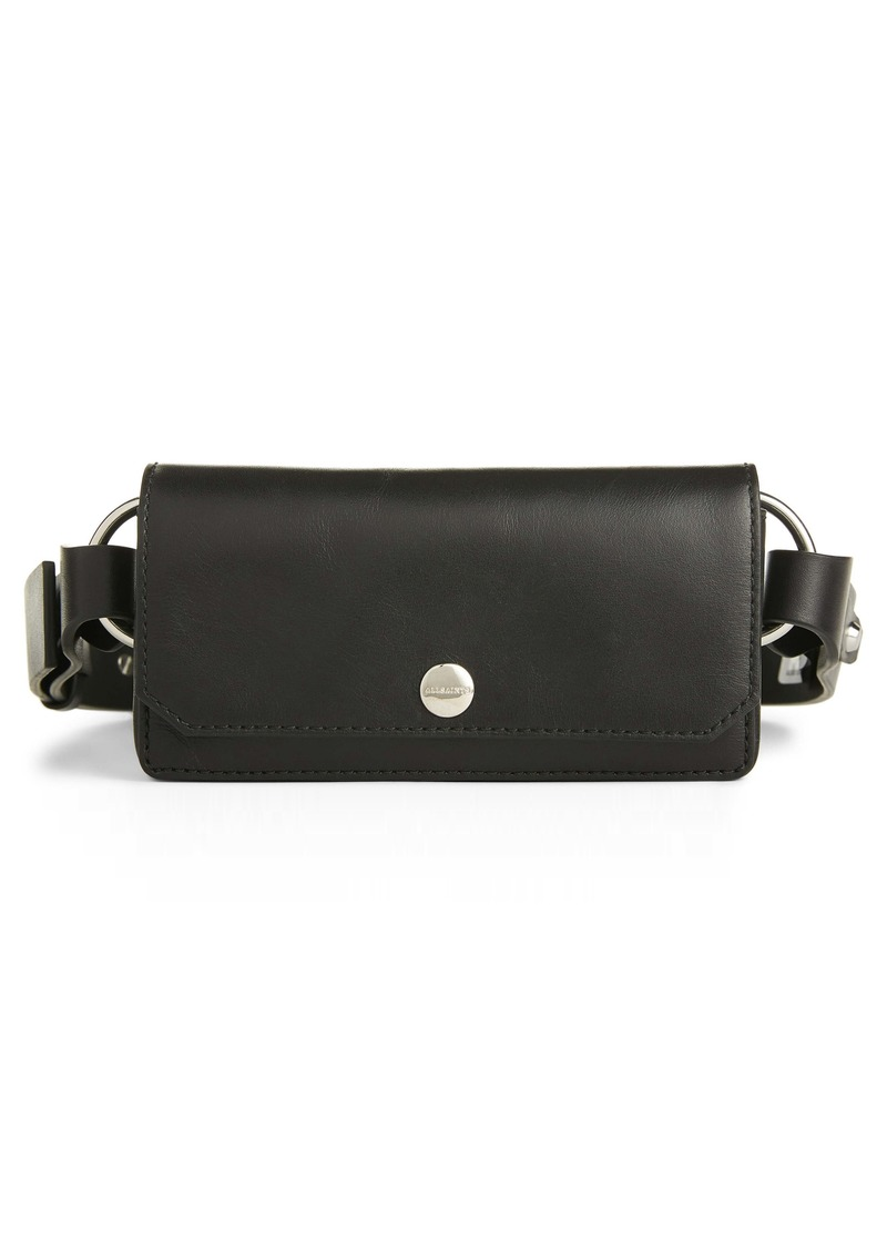 ALLSAINTS Leather Belt Bag