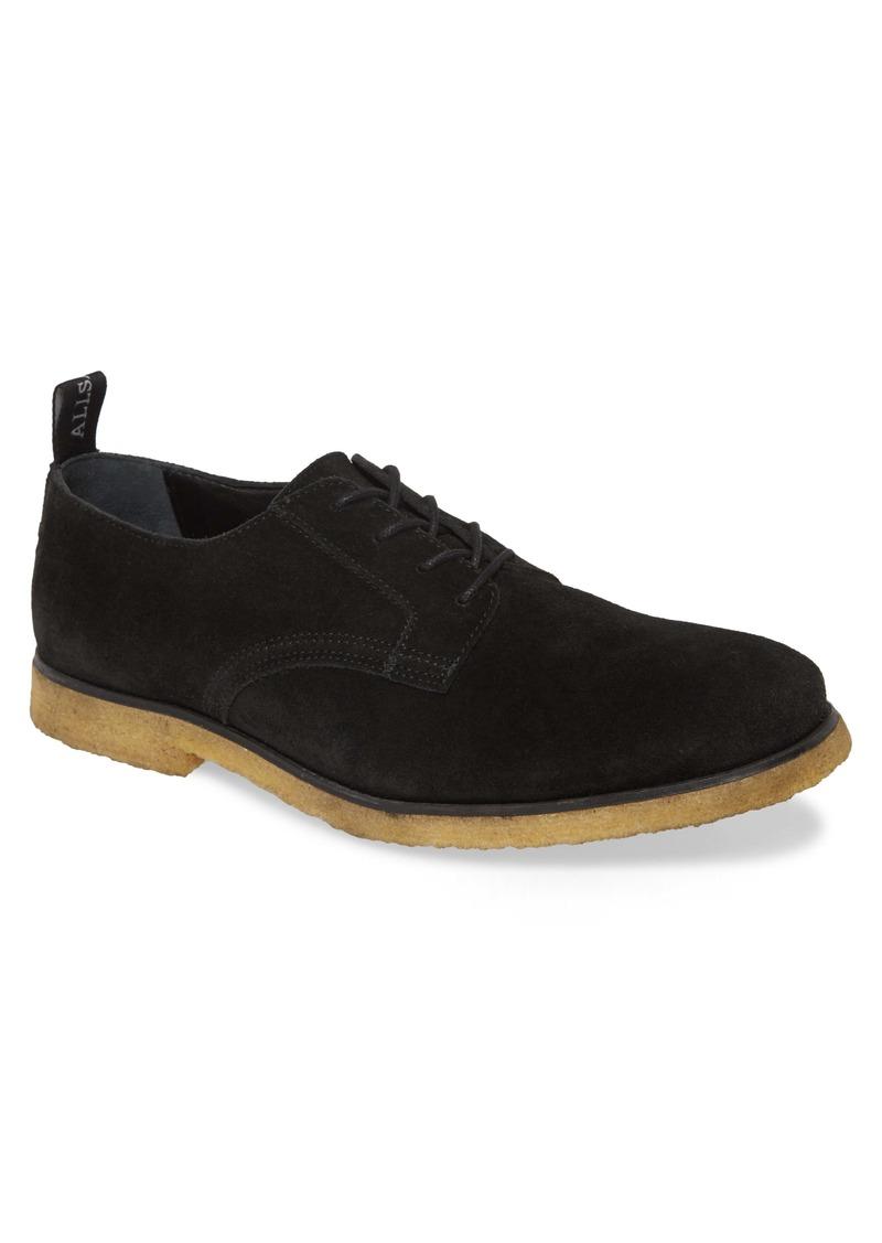 ALLSAINTS Leigh Plain Toe Derby (Men)