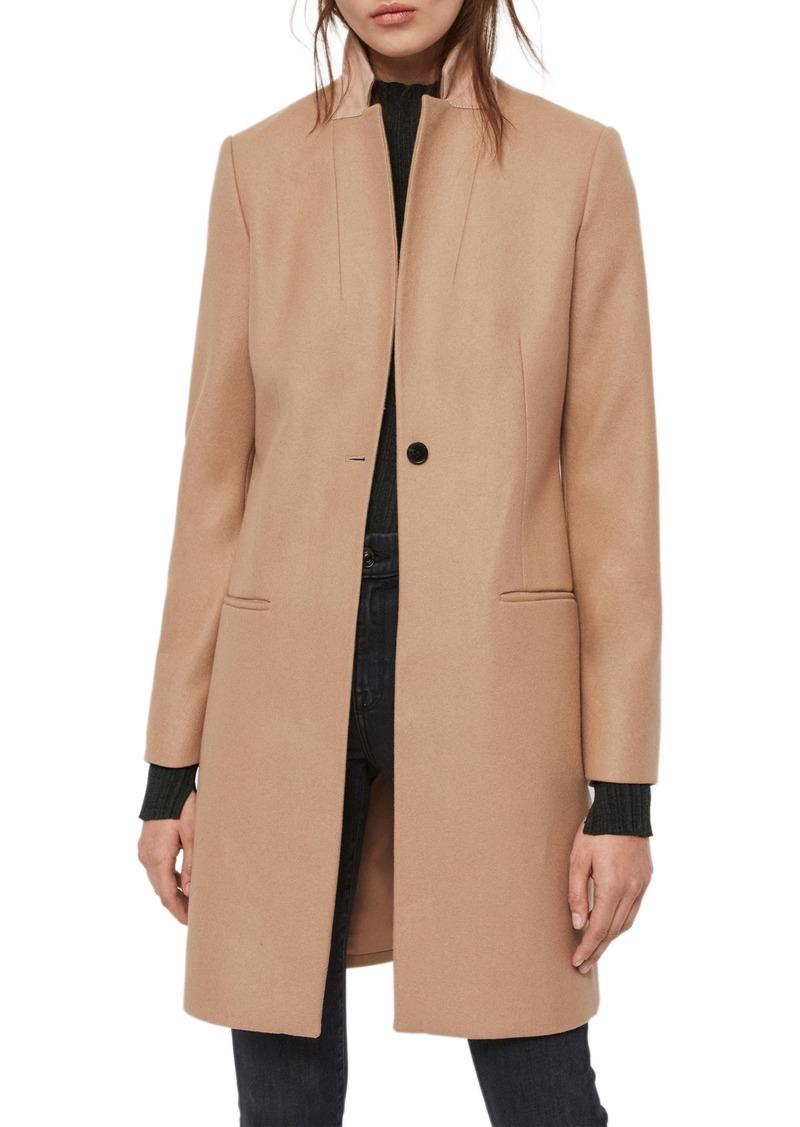 ALLSAINTS Leni Wool & Cashmere Blend Coat