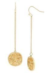 ALLSAINTS Linear Coin Drop Earrings