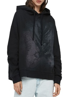 ALLSAINTS Lo Feather Hooded Sweatshirt