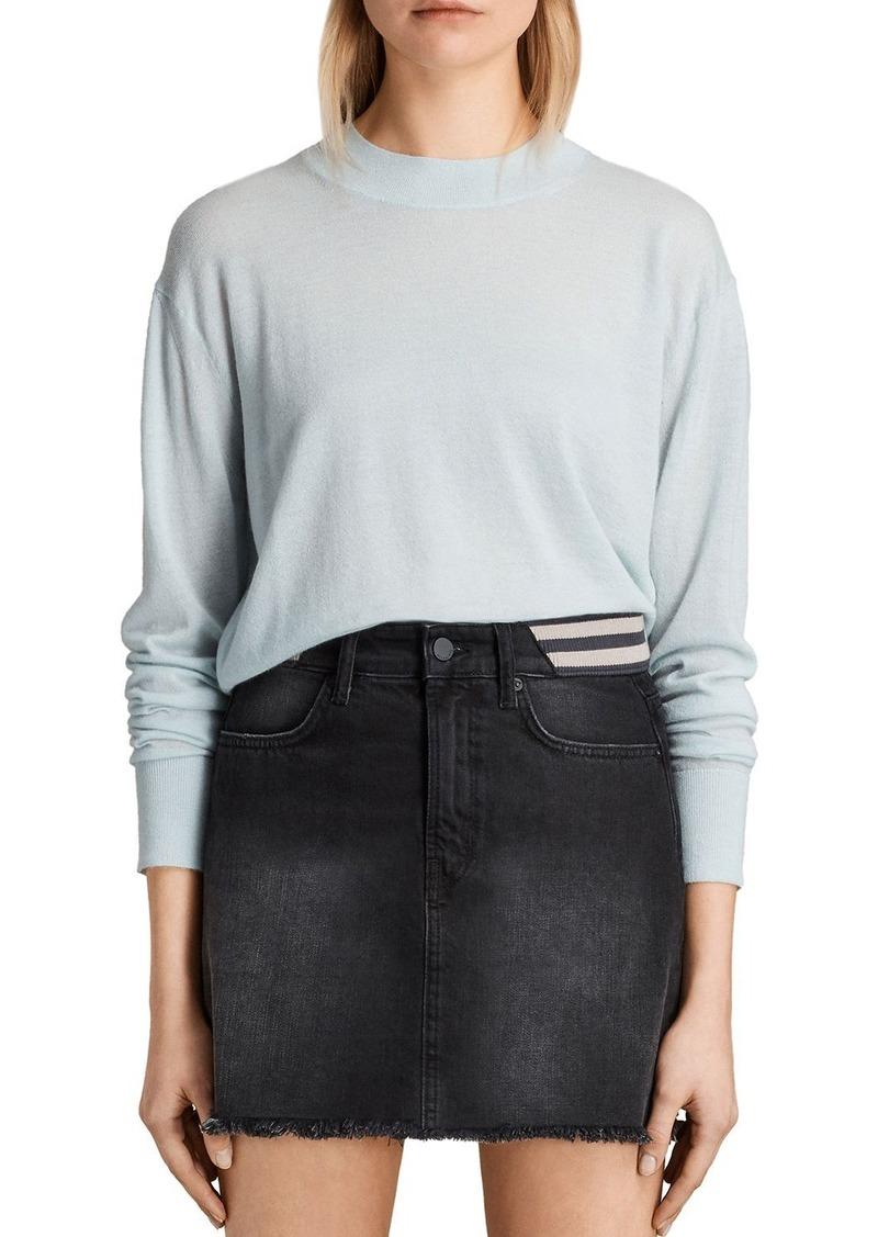 AllSaints ALLSAINTS Lotus Cropped Cashmere Sweater | Sweaters ...