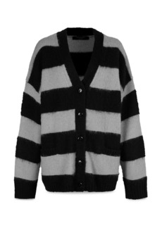 ALLSAINTS Lou Striped Cardigan