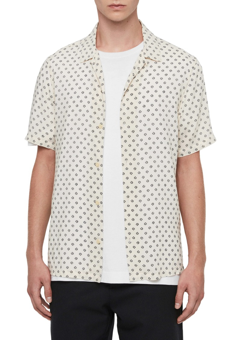 ALLSAINTS Lucked Out Regular Fit Button-Up Shirt