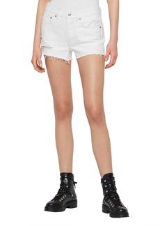 ALLSAINTS Mai Ripped Denim Shorts