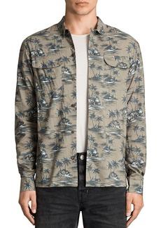 ALLSAINTS Marooned Slim Fit Button-Down Shirt