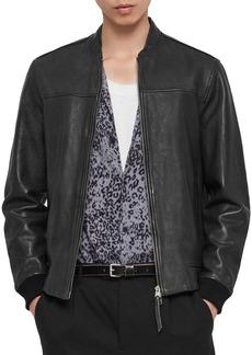 ALLSAINTS Marsh Leather Bomber Jacket