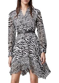 ALLSAINTS Martina Remix Long Sleeve Dress
