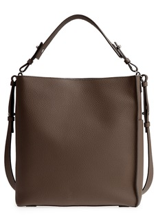 ALLSAINTS Mast Leather Shoulder Tote