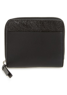ALLSAINTS Mast Shine Leather Wallet