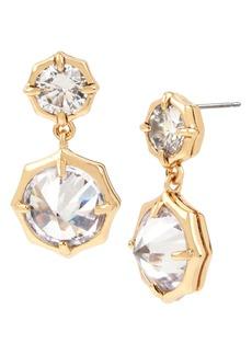 ALLSAINTS Mini Crystal Drop Earrings