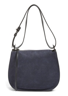ALLSAINTS Mini Echo Calfskin Suede & Leather Hobo