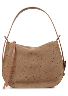 ALLSAINTS Mini Echo Star Embossed Convertible Shoulder Bag
