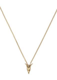 ALLSAINTS Mini Ram Pendant Necklace