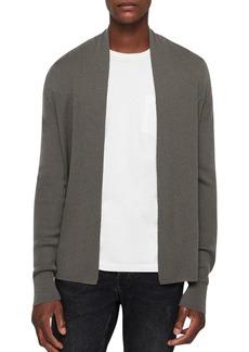 ALLSAINTS Mode Merino Wool Open Cardigan