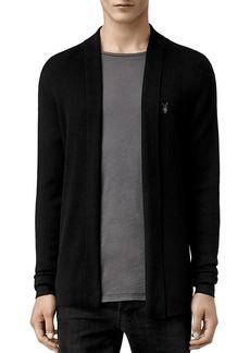 ALLSAINTS Mode Merino Wool Open Cardigan Sweater