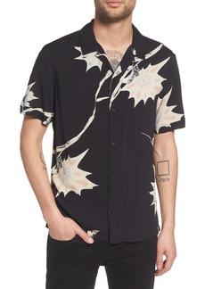 ALLSAINTS Mokapu Regular Fit Short Sleeve Sport Shirt