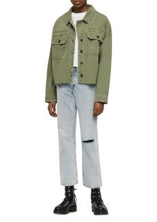 ALLSAINTS Morten Oversize Shirt Jacket