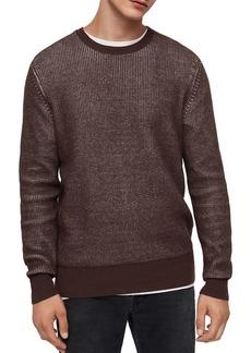 ALLSAINTS Natan Crewneck Thermal Sweater