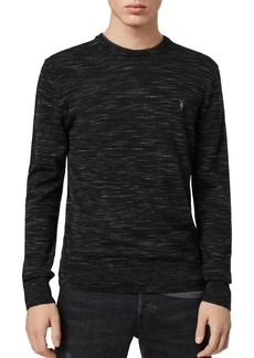 ALLSAINTS Nep Space-Dyed Merino Crewneck Sweater
