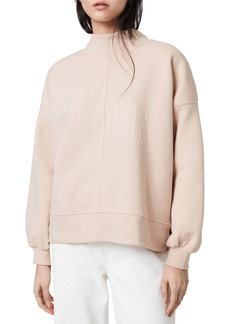 AllSaints Nevarra Mock Neck Sweatshirt