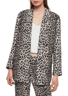 ALLSAINTS Neve Leopard Print Blazer
