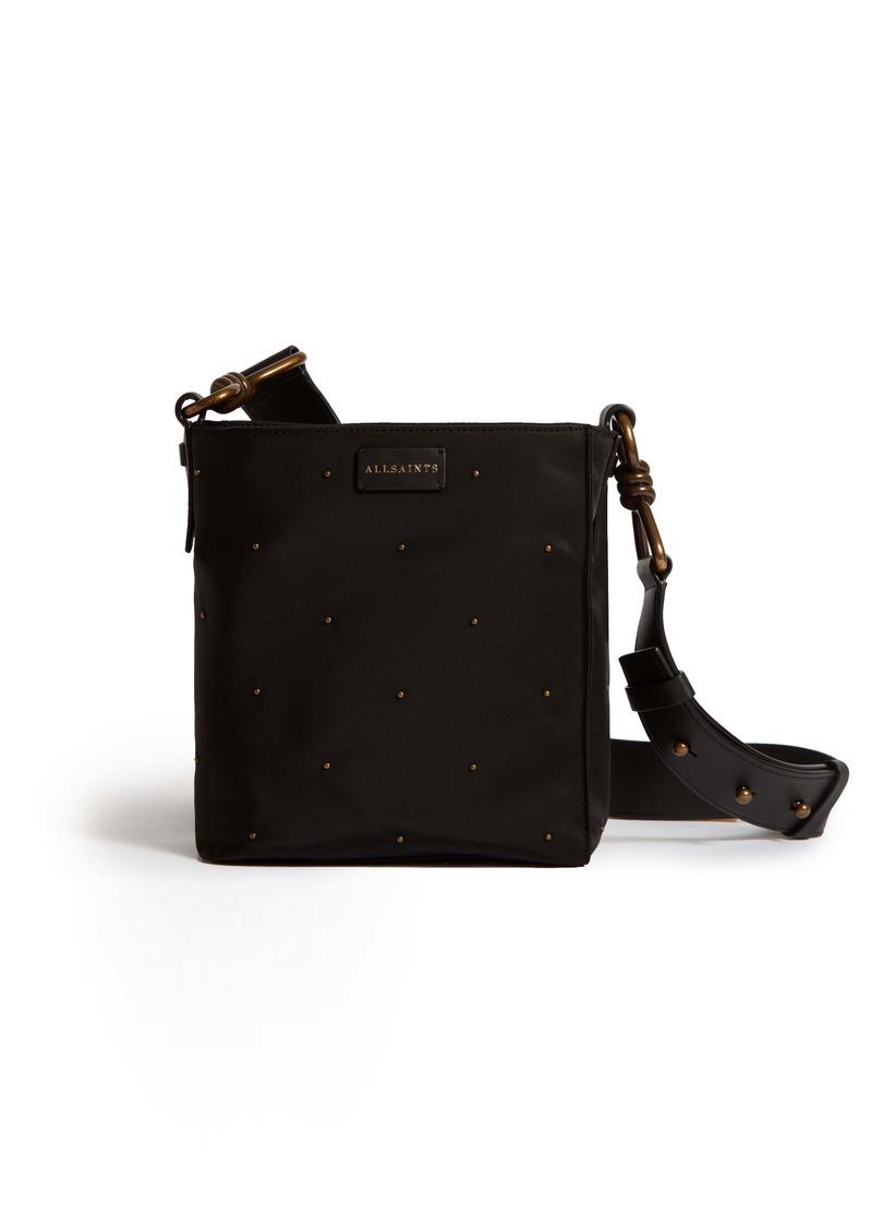 ALLSAINTS Nilo Studded Nylon Crossobody Bag