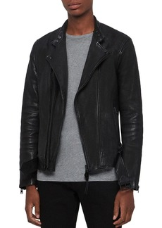 ALLSAINTS Northwick Leather Biker Jacket