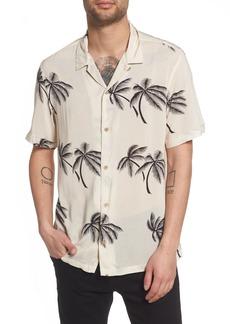 ALLSAINTS Offshore Regular Fit Short Sleeve Sport Shirt