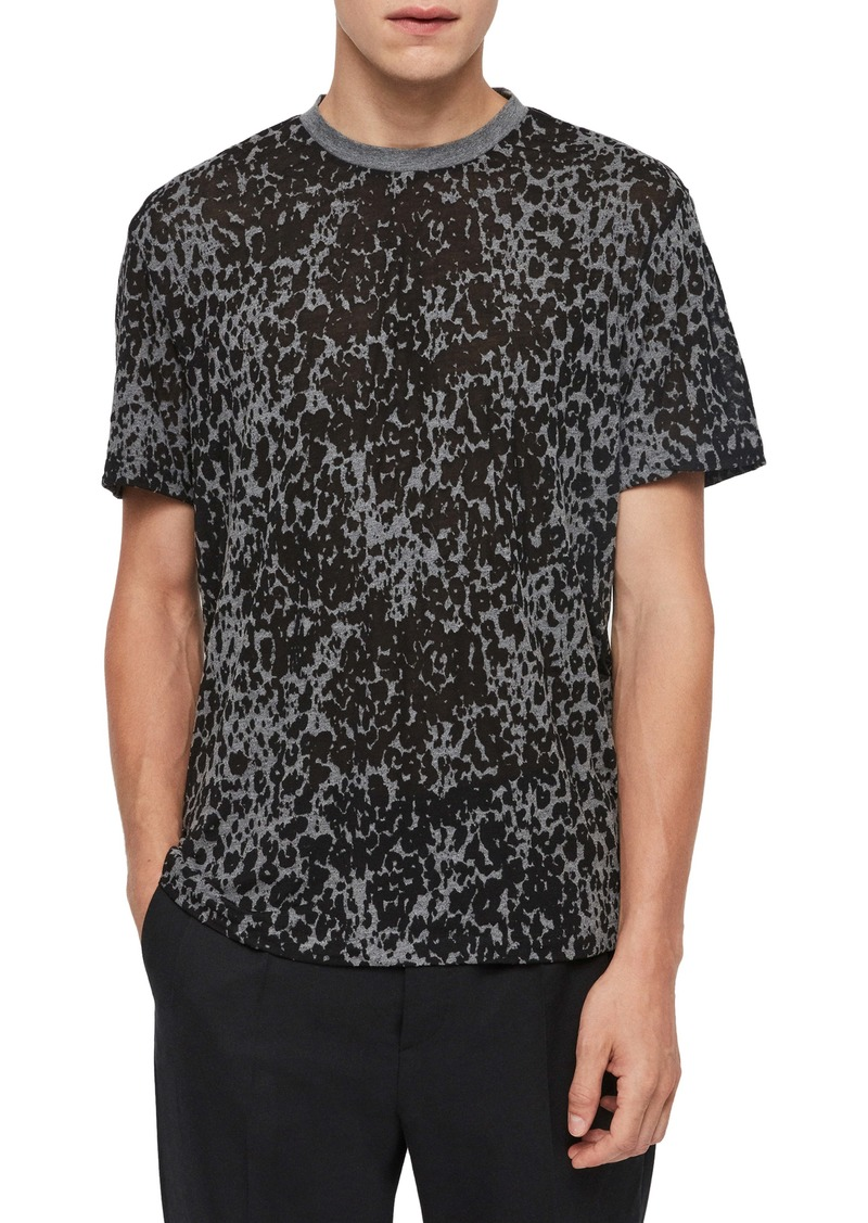 ALLSAINTS Pardus Cotton Blend Crewneck T-Shirt