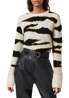 ALLSAINTS Pernile Animal Striped Sweater