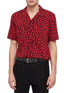 ALLSAINTS Piero Classic Spotted Camp Shirt
