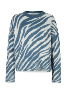 ALLSAINTS Pina Animal Print Sweater