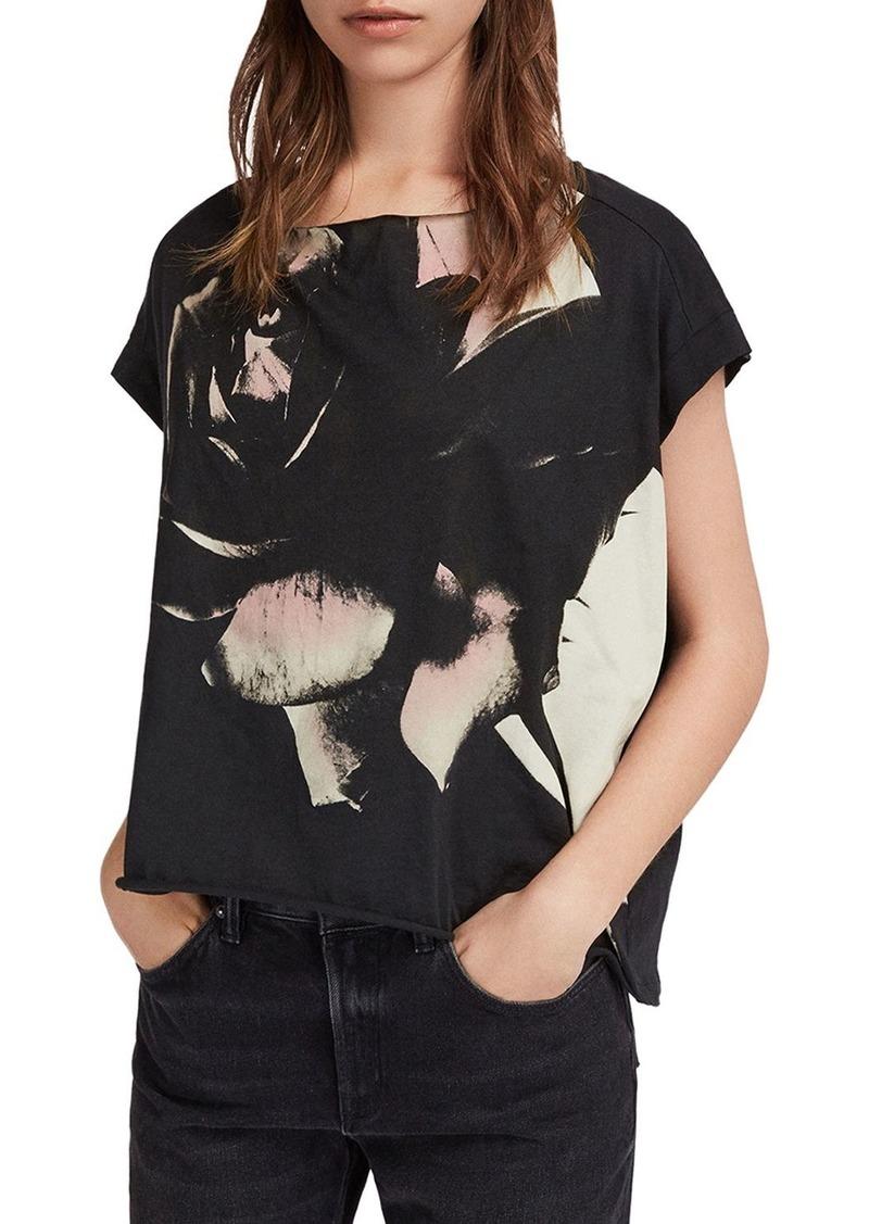 0d90eca25 AllSaints ALLSAINTS Pina Rosalita Graphic Tee   Casual Shirts