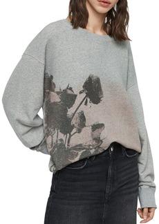 ALLSAINTS Piro Rose Sweatshirt