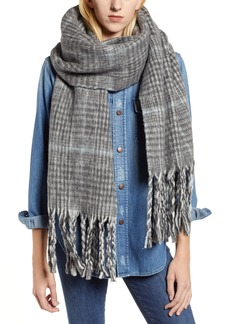 ALLSAINTS Plaid Brushed Wool Blanket Scarf