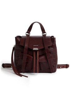 ALLSAINTS Polly Mini Leather Backpack