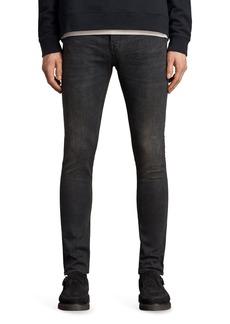 ALLSAINTS Print Skinny Fit Jeans
