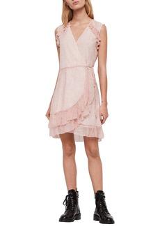 ALLSAINTS Priya Leox Wrap Dress