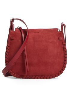 ALLSAINTS Ray Nubuck Crossbody Bag (Nordstrom Exclusive)