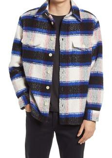 AllSaints Rayado Check Button-Up Shirt