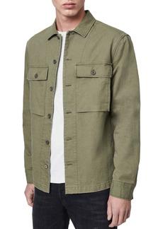 ALLSAINTS Recon Regular Fit Button-Up Shirt