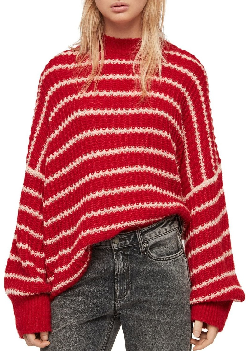 bf219d198 AllSaints ALLSAINTS Renne Striped Sweater