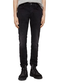 ALLSAINTS Rex Slim Fit Jeans in Dark Grey