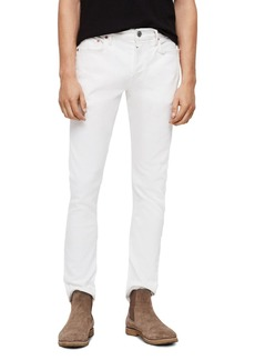 ALLSAINTS Rex Straight Slim Jeans in White
